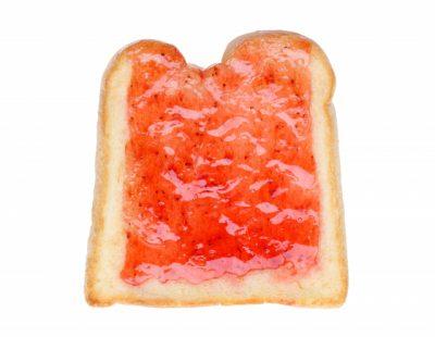 ジャムトーストはおいしいですが食べない方が良いのです
