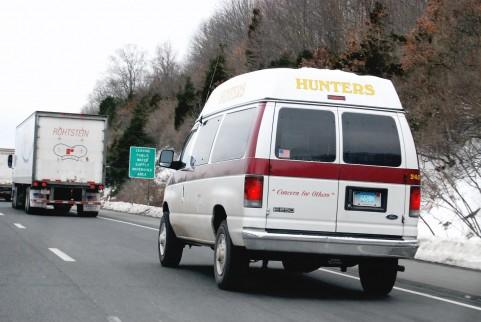 救急車で病院へ